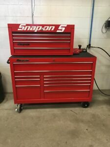 Snap On Kra2422 Classic Series Roll Can And Kra4117fpbo To Chest