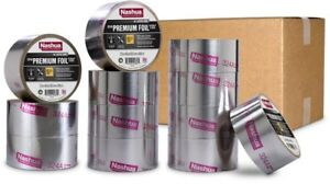 Nashua Tape 2 5 In X 60 Yd 324a Premium Foil Ul Listed Hvac Tape Pro Pack