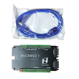 Cnc 4 Axis Usb Mach3 Motion Control Card Breakout Interface Board 125kh