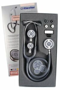Riester Tristar Stethoscope 3 Chest pieces Slate Gray