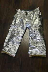 Aluminum Morning Pride Pants Overalls For Firefighters Rip Stop Various Sizes