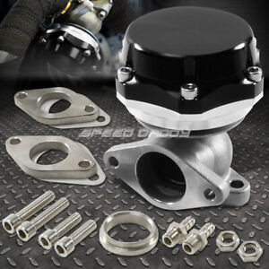 35mm 38mm Turbo Charger Manifold Black 8 Psi Compact 2 bolt External Wastegate