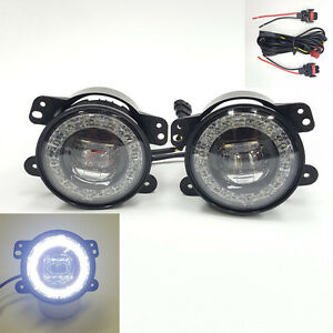 Built In Led Clear Lens Drl Fog Driving Light For 2011 2013 Jeep Grand Cherokee