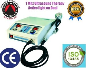 New Original Ultrasound Ultrasonic Therapy Machine For Pain Relief 1mhz Portable