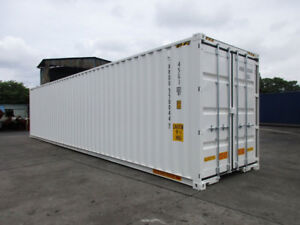 40ft High Cube New One Trip Double Door Shipping Container Dallas Tx