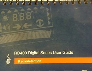 Radiodetection Rd400 Precision Locator User Guide owners Manual In 6 Languages
