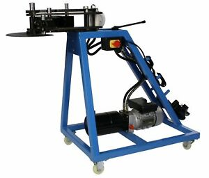 Erie Tools 10 Ton Electric Hydraulic Pipe Tube Bender Round Tube Die Package