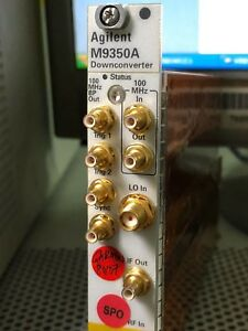 Keysight Agilent M9350a Pxie Downconverter For M9391a Vector Signal Analyzer