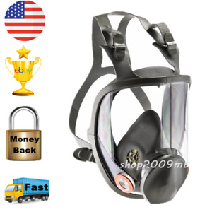 Large Size Full Face 6800 Gas Mask Respirator Resin Painting Safety Mask Sprayin