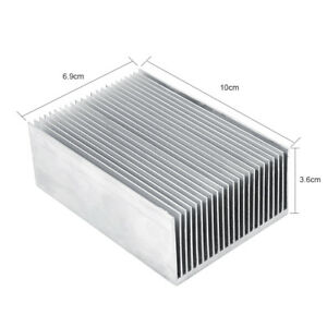 5x Large Big Aluminum Heatsink Heat Sink Radiator F led High Power Amplifier Amp