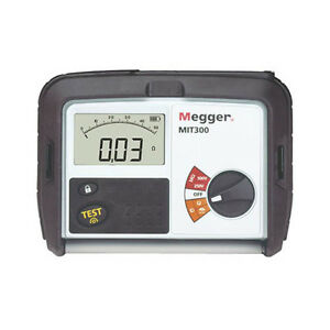 Megger Mit300 250 500v Insulation And Continuity Tester