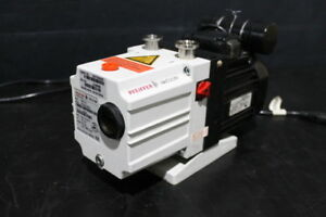 Pfeiffer Duo 2 5 Vacuum Pump Tested Rebuilt With 6 Month Warranty
