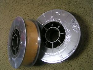 Two 11 Lb Spools er70s 6 X 023 Mild Steel Mig Welding Wire free Gift