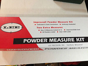 LEE IMPROVED POWDER MEASURE DIPPER KIT 15 DIFFERENT DIPPERS # 90100