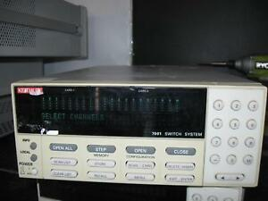 Keithley 7001 Switch System Qty