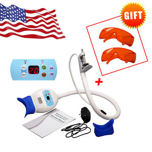 Usa Dental Teeth Whitening Light Lamp Bleaching Accelerator Led With 2 goggles