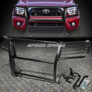 For 05 15toyota Tacoma Truck Black Coated Mild Steel Front Bumper Grill Guard