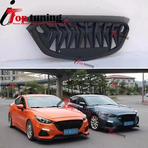 New Custom Front Bumper Grille Sport Grill Type For Mazda 3 Aexla 2017 2018