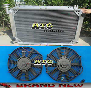 For Nissan Patrol Gq Safari 2 8 4 2lt Diesel Y60 3row Aluminum Radiator Fans