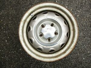 1 Dodge Mopar Rally Wheel 14 X 6 Large 5 Lug On 4 5 Center Cap 71 74
