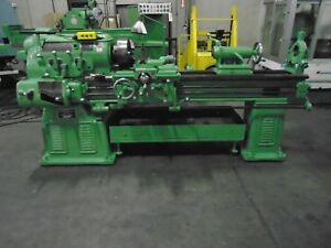Monarch 14 Aa Engine Lathe 16 Swing X 54 B c