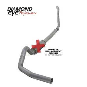 Diamond Eye K4307a rp Turbo back Exhaust Kit 94 97 Ford Powerstroke 7 3l Diesel