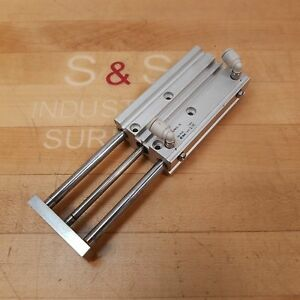 Smc Mgpm12 75 Compact Guided Pneumatic Cylinder 12mm Bore 75mm Stroke Used
