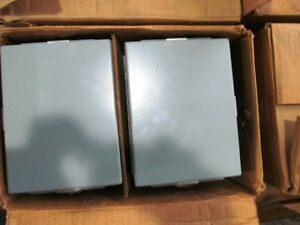 1 Case Of 8 Pieces Hoffman Electrical Enclosures new And Unused a 806chnf