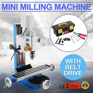 Mini Milling Drilling Machine With Gear Drive High Quality 20 2500rpm 550w