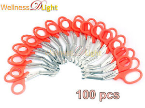 Wdl 100 Orange Emt Shears scissors Bandage Paramedic Ems Rescue Supplies 7 25