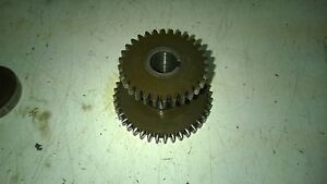 Leblond Regal 13 Lathe Reverse Shaft Double Gear 6