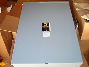 New Square D Dtu324nrb Double Throw Safety Transfer Switch Box 200a 240v 50 60hz