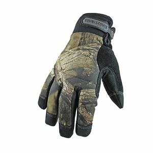 Youngstown Glove 05 3470 99 l Camo Waterproof Winter Gloves Large Mossy Oak
