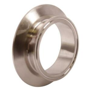 End Cap Reducer Tri Clamp clover 4 Inch X 3 Sanitary Ss304 3 Pack
