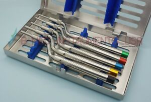 Or Grade 5 Sinus Lift Osteotomes Bone Spreading Offset Concave Cassette Dental