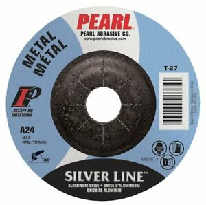 Pearl Silverline Dc5010th 5 X 1 4 X 5 8 11 Depressed Center Grinding Wheel