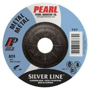 Pearl Silverline Dc6020th 6 X 1 4 X 5 8 11 Depressed Center Grinding Wheels