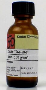 Silver Nitrate 25 Solution 1 Fl Oz