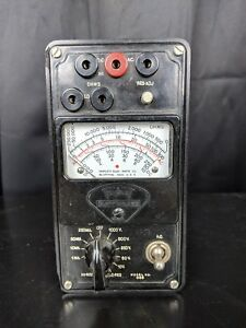 Triplett Model 666 Volt Ohm Meter No Probes Untested