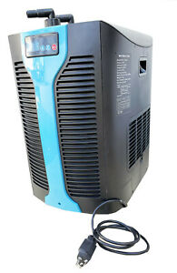 1 2 Hp Water Chiller Refrigeration Unit For Hydroponic Fish Tank 53 185 Gallon