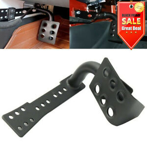 Metal Dead Pedal Left Side Foot Rest Kick Panel For Jeep Wrangler Accessories