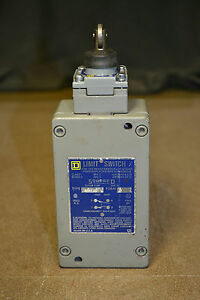 Square D Limit Switch 9007 Cr53b2 Series A With 9007d Roller Arm