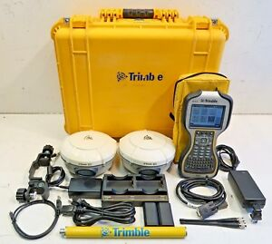 Trimble Dual R8 Model 3 Tsc3 W access Complete Glonass Rtk Package