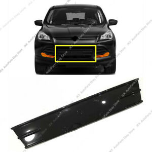 Abs Refacing Front Bumper Middle Lower Grille Refit For Ford Escape 2013 16