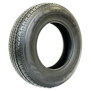 2 two New St205 75r15 Premium Trailer King St Radial Tires 8 Ply 2057515 Tks49
