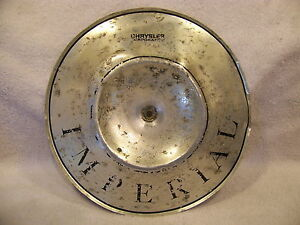 1968 Chrysler Imperial Air Cleaner Pie Tin 69