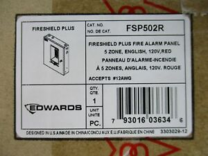 new Edwards Fsp502r Conventional Fire Alarm Control Panel