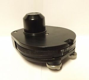 Zeiss Axio Microscope Phase Contrast Condenser 445303 Axiolab
