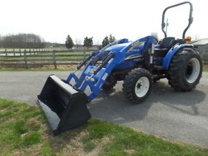 New Holland Boomer 40 2013 W 69hrs 4wd Hydro Ldr Warr Remaining