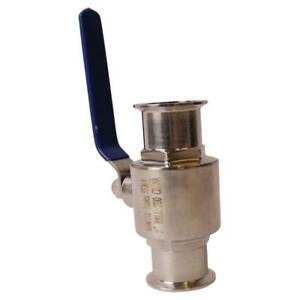 Sanitary Ball Valve Tri Clamp 2 Inch Ss304 3 Pack